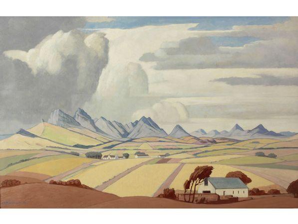 Jacob Hendrik Pierneef; Koringlande, Agter Paarl