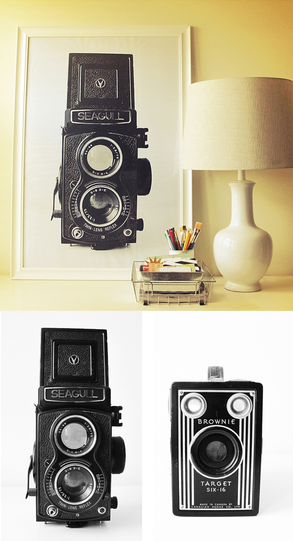 How to enlarge photos for cheap (with free camera printables) -- from DesignEditor -- http://designeditor.typepad.com/design_editor/2012/08/crafts-oversized-camera-poster-free-download.html
