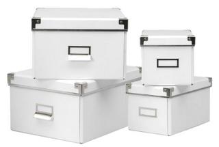 IKEA Kassett storage boxes: a Delightful organization solution.