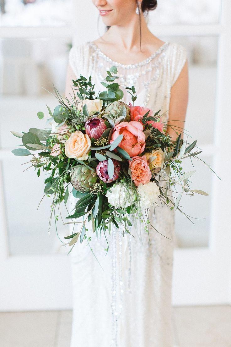 Bouquet minus the artichokes