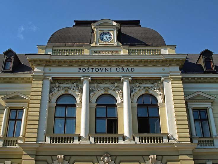Post office in Jablonec nad Nisou (photo M. Bajer)