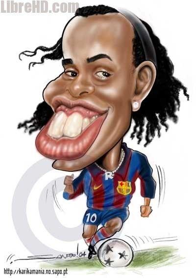 Los dientes de Ronaldinho