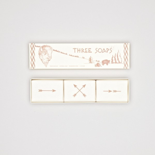 Izola Great Plains Soap Trio