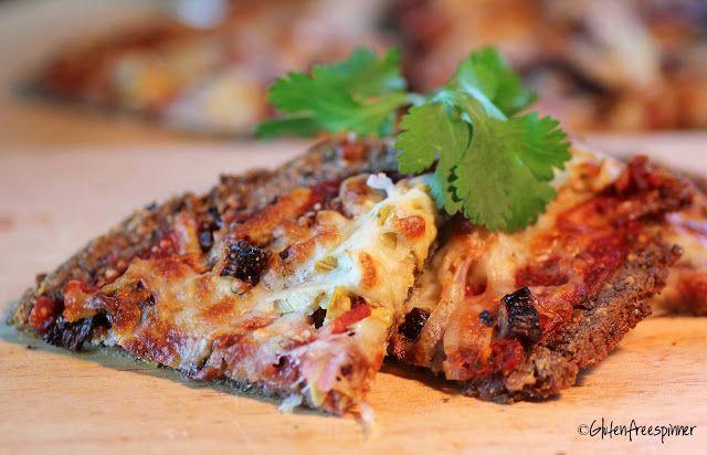 Artichoke Pizza with Aduki Bean Crust | Foods | Pinterest | Artichoke ...