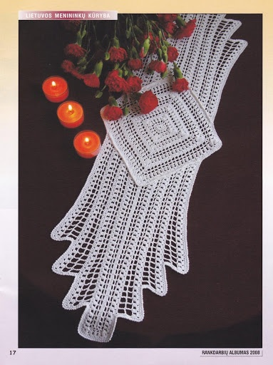 love this doily... so Retro book free