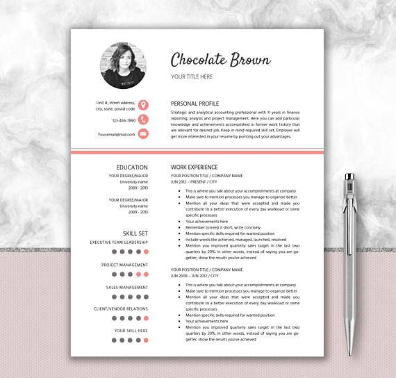 Creative Design Cv Template Editable In Word Writing Tips Creative Resume Templates Resume Template Word Resume Cover Letter Design