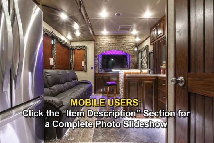 Auto Level, Generator, Fuel Station, W/D Prep, 2 Decks, New 2016 40D12 4 Season Side Deck Slide Out Luxury 5th Fifth Wheel Toy Hauler for $72,999.00, free shipping