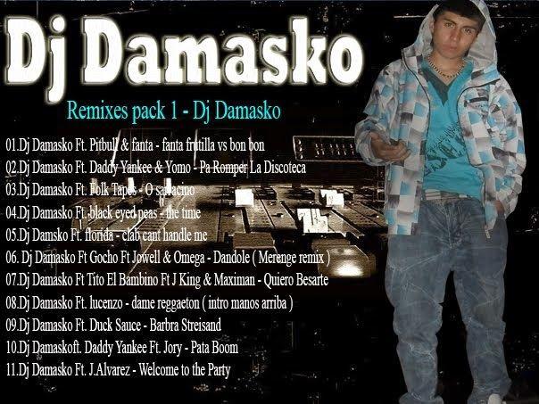 descargar pack remix 01 - Dj damasko | descargar pack de musica remix
