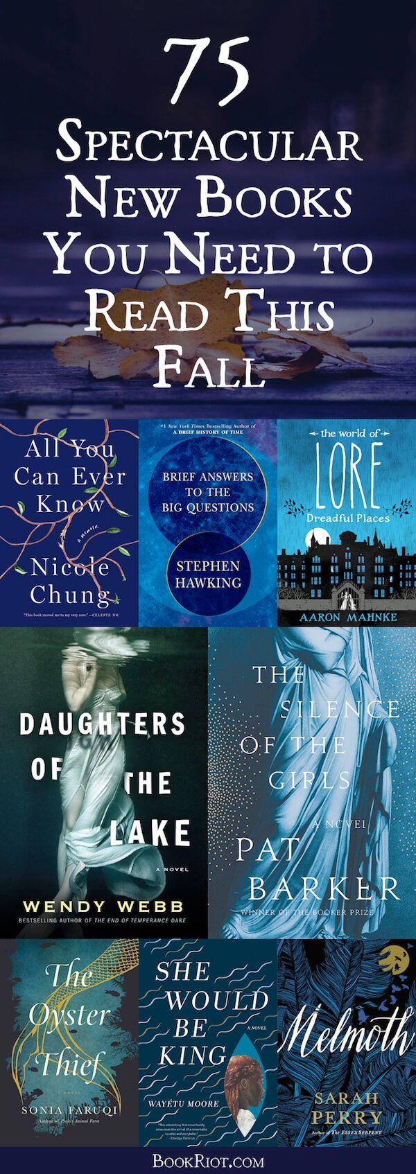 75 nouveaux livres spectaculaires à lire cet automne  – { parchment girl }