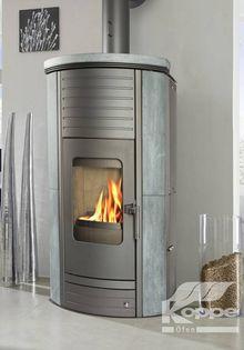 Poêle à granulés sans électricité : GRAVITY - Koppe - Tiplo - Revendeurs installateur de poêles à bois, poêles à granulés et cheminées