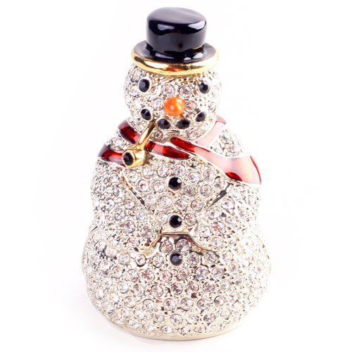 一周年祭 【クリスマス30%OFF】 通常4,935円< スノーマン > ピィアース 宝石箱 ジュエリーボックス ホワイトデーに気の利いたギフトを☆ 置物 雑貨 雪だるま 女の子や彼女が喜ぶ可愛いクリスマスプレゼント♪ 雪だるまのクリスマス飾り X'mas 【レビュープレゼント対象】【ピィアースオフィシャルショップ】 株式会社ピィアース, http://www.amazon.co.jp/dp/B00GG5XGGS/ref=cm_sw_r_pi_dp_jRhgtb1M2BFW9