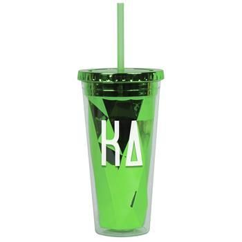 Kappa Delta Sorority Metallic Tumbler - Brothers and Sisters' Greek Store