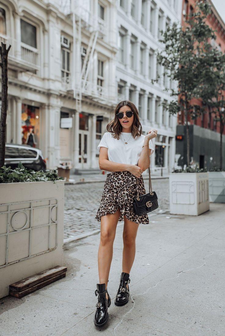 Nervöser Leopard