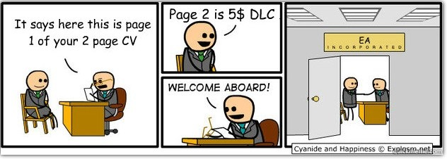 cyanide and happiness on ea  dlc