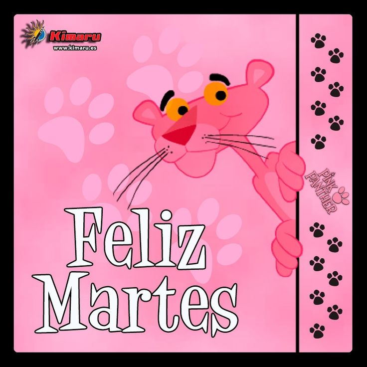Feliz Martes Pink Panther