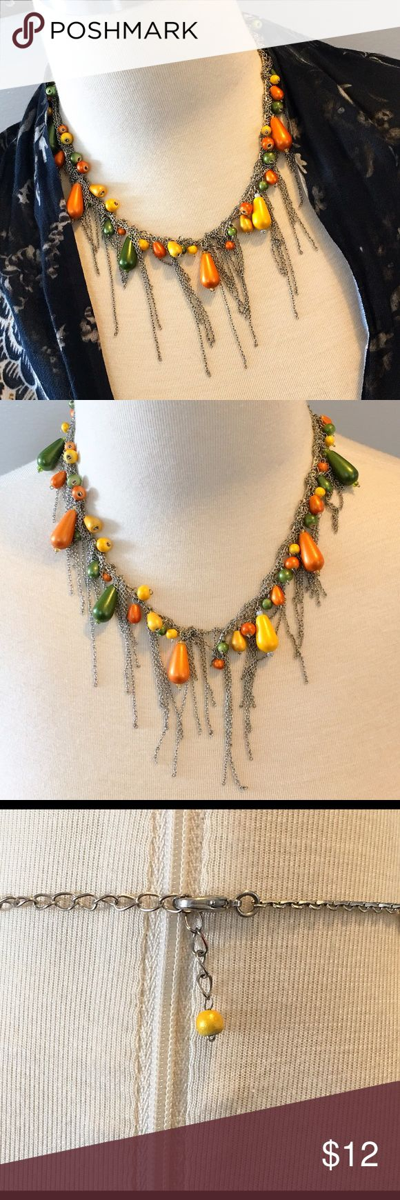 a fabulous spring time favorite necklace gently pre loved fabulous springtime favorite