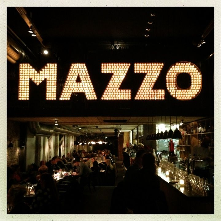 Mazzo in Amsterdam, Noord-Holland - nice cafe like trattoria and good spot from shopping or post anne frank
