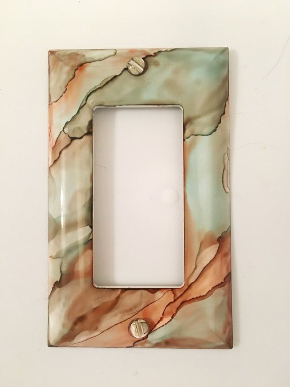 Switch Plate Light Switch Cover Painted by CareysHomeCreations