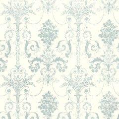Josette Duck Egg/White Wallpaper
