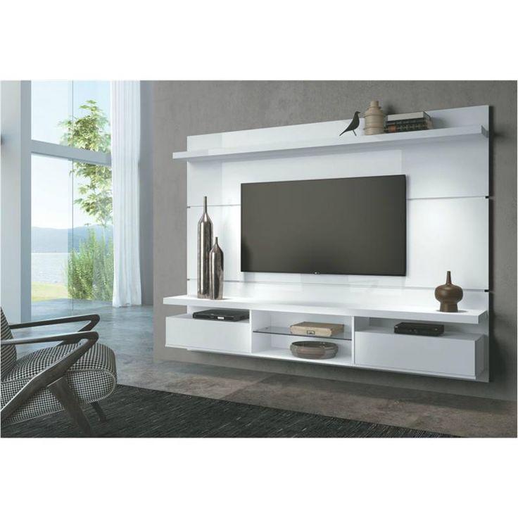 17 melhores ideias sobre painel para tv no pinterest for Sala de estar funcional