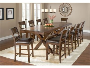 Shop For Hillsdale Furniture Park Avenue 11 Piece Counter Height Dining Set 4692CTBC11