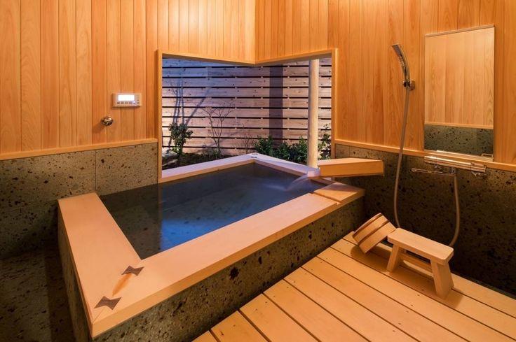 AMI ENVIRONMENT DESIGN/アミ環境デザイン の 和風の お風呂 .宮司の家