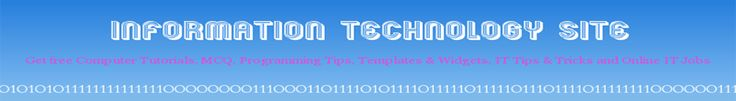Information Technology Site