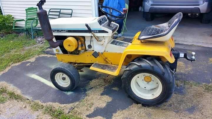 Cub Cadet 169 Garden Tractor : Best cub cadet images on pinterest tractors lawn