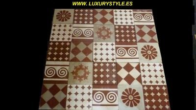 WWW.LUXURYSTYLE.ES offer OLD FLOOR TILES for DESIGN SHOP DESIGN RESTAURANT DESIGN BAR DESIGN KITCHEN Www LUXURYSTYLE ES offer OLD TILES PATCHWORK of DESIGN PATTERNED TILES for DESIGN SHOP Old tiles for design shop patchwork o patterned tiles is beautiful for every design shop in luxury style These old tiles for luxury design shop patchwork of patterned tiles are hand made These old tiles for design shop patchwork of patterned tiles are more than 100 years old This fantastic design shop