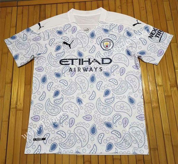 2020 2021 Manchester City 3rd Away White Soccer Jersey Manchester City Manchester City Football Club