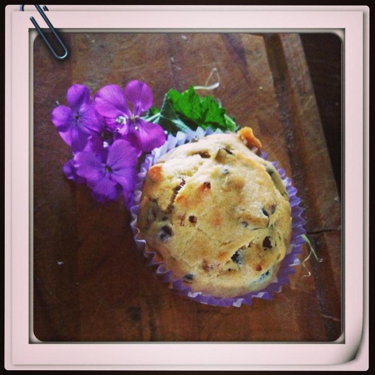 Muffin salato pomodorini secchi e olive taggiasche