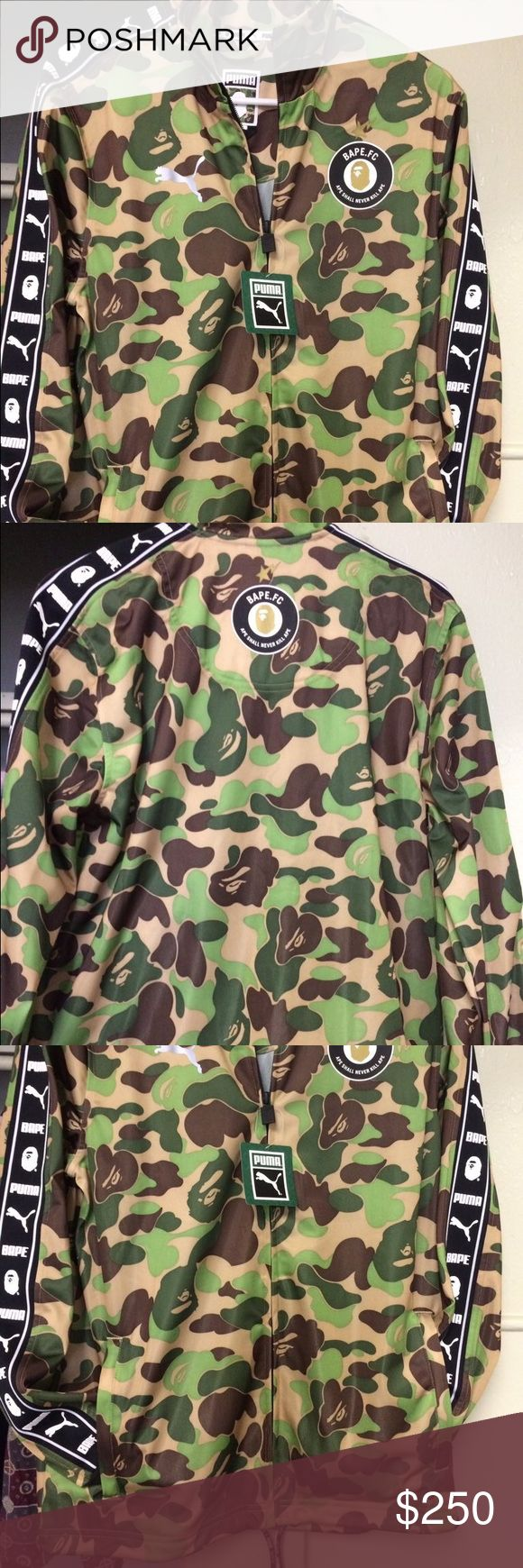 BAPE X PUMA Really dope jacket Bape Jackets & Coats