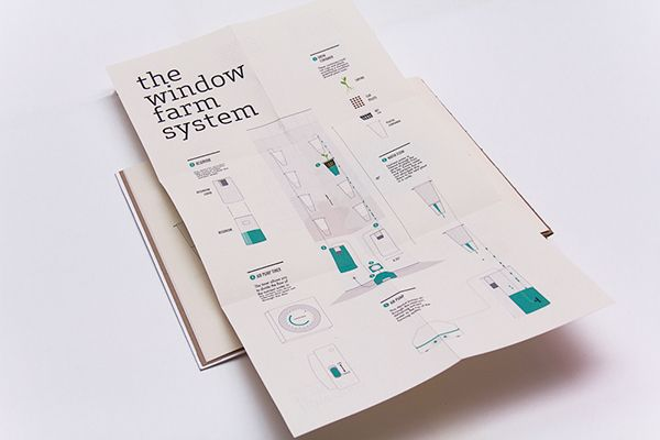 Window Farms: Information Design Book on Behance