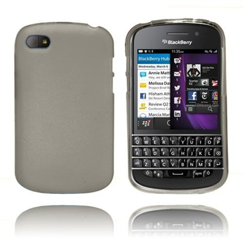 Frosted (Grå) Blackberry Q10 Cover