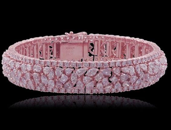 29.11 ct.  PINK diamond bracelet ♥