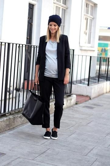 Shop her look at www.noppies.com! Blazer: http://bit.ly/1hY0V9f Shirt: http://bit.ly/1fongCw Chino: http://bit.ly/1j73L0R #fashion #maternity #pregnancy