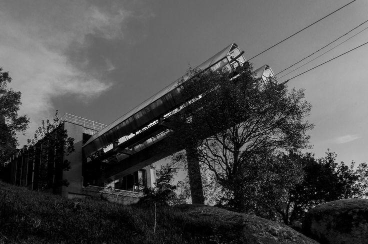 Saída do Teleférico da Penha em Guimarães