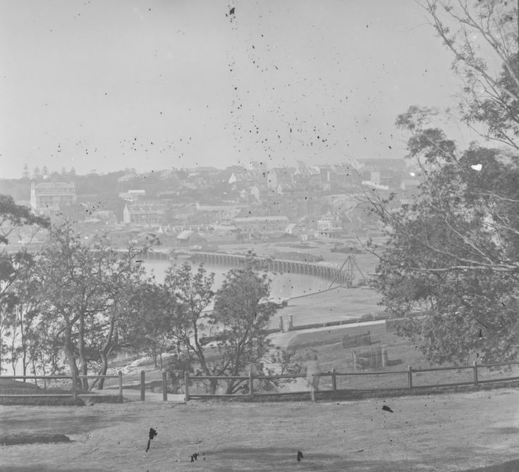 Wooloomooloo from The Domain, Sydney