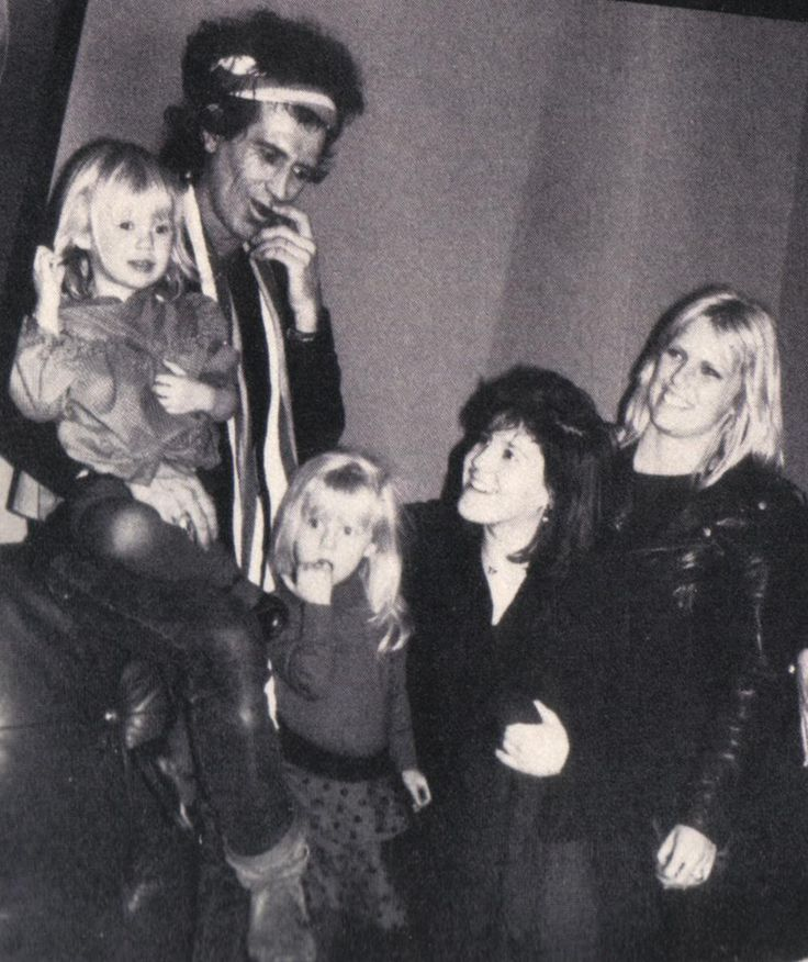 Keith Richards Family | www.imgkid.com - The Image Kid Has It! Keith Richards Family