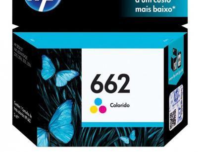 Cartucho de Tinta Colorido - HP 662 CZ104AB com as melhores condições você encontra no Magazine Luisacesar. Confira!