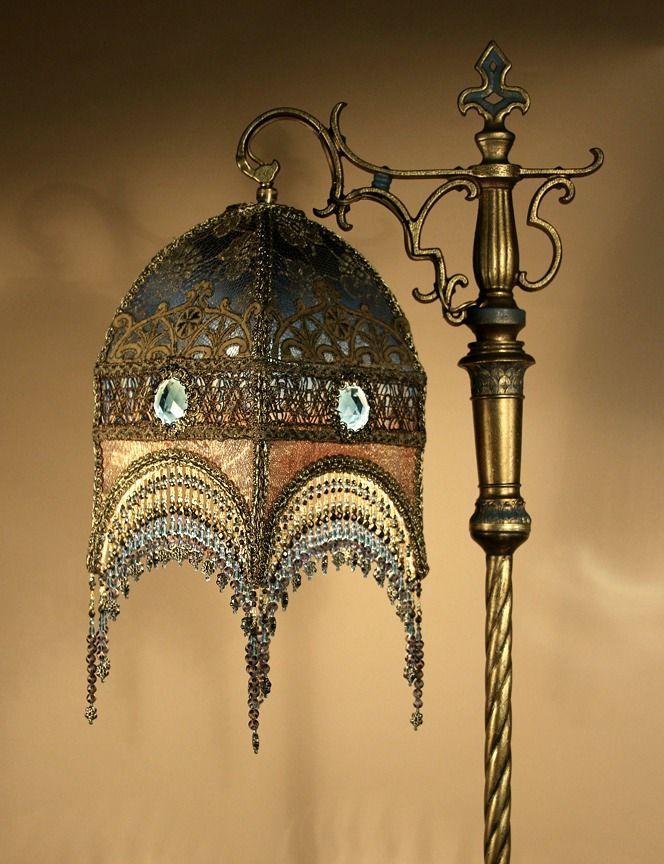 1000 Images About Bridge Lamp Shades On Pinterest Lamp