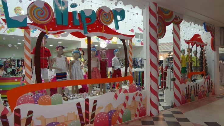 Vitrina Navideña Local Lollipop !!!