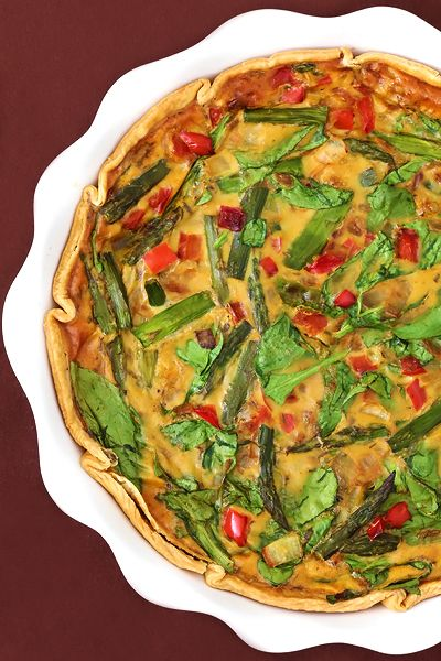 Dairy-Free Vegetable Quiche (with Eggs)