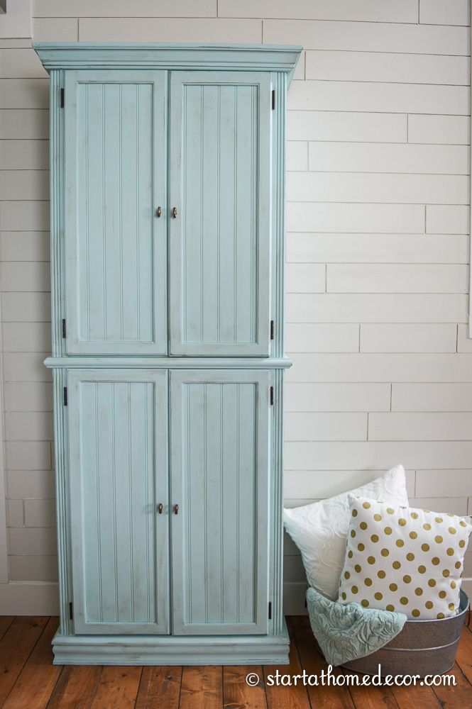 this is an amazing upcycle from a glass door curio cabinet to a fullfledged storage cabinet