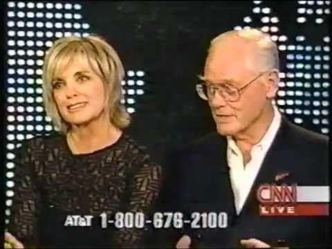 Dallas   Larry Hagman and Linda Gray on Larry King CNN Part 1