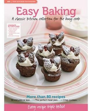 Easy Baking | Find it @ Radford Library 641.815 EAS