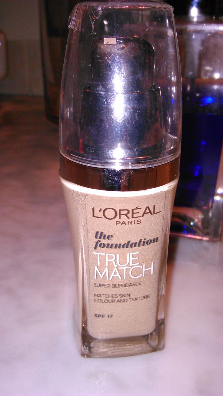 L'Oreal True Match, the foundation