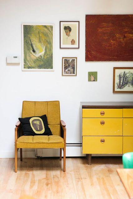 wohnen im mid century design design mid century modern pinterest wohnideen und m bel. Black Bedroom Furniture Sets. Home Design Ideas