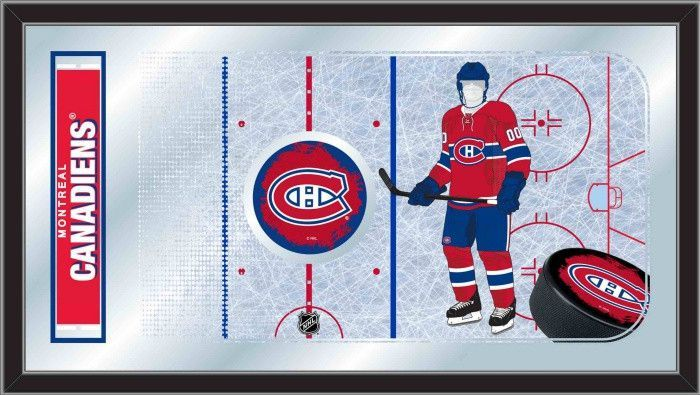 Montreal Canadiens NHL Rink Mirror