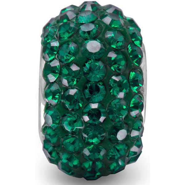 Teal Green Pave Crystal Bead (64 BRL) ❤ liked on Polyvore featuring jewelry, necklaces, pave necklace, crystal bead necklace, beaded jewelry, teal necklace and beading jewelry